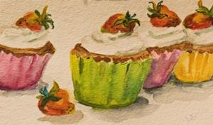Detail Image for art Cupcakes