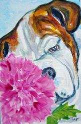 Art: A Peony for Preston by Artist Tracey Allyn Greene