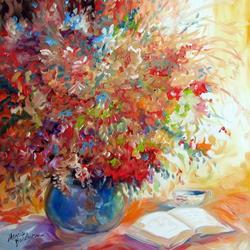 Art: QUIET TIME by Artist Marcia Baldwin