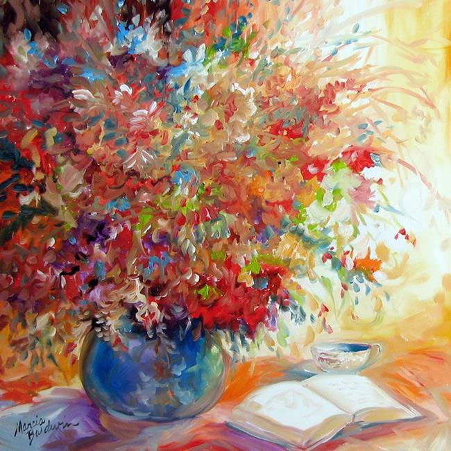 Art: QUIET TIME by Artist Marcia Baldwin