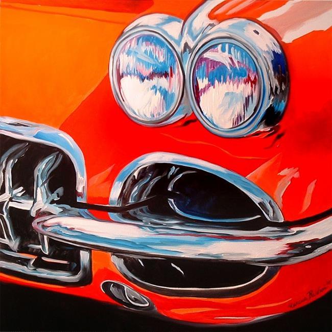 Art: THE CORVETTE by Artist Marcia Baldwin