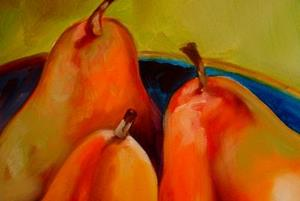 Detail Image for art PEARS THREE