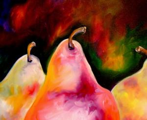 Detail Image for art PEARS & STRIPES