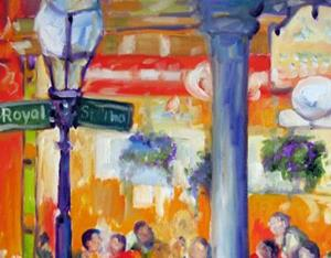Detail Image for art NEW ORLEANS ROYAL ST EATERY