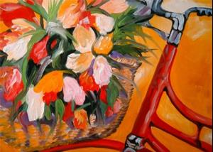 Detail Image for art FLOWERS IN TUSCANY