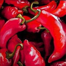 Art: Chili Peppers by Artist Marcia Baldwin