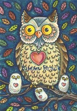 Art: WHO LOVES YA BABY by Artist Susan Brack