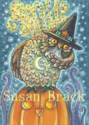 Art: HEADLESS HOOTS by Artist Susan Brack