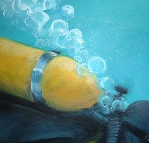 Detail Image for art The Scuba Diver