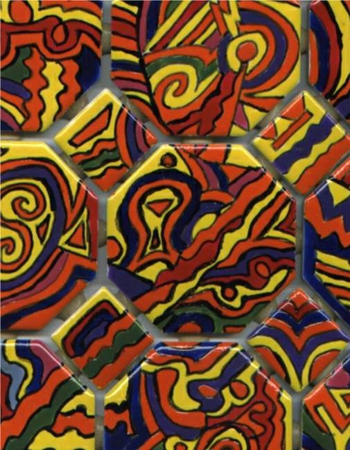 Art: Groovin in the Fast Lane - SOLD by Artist Dorothy Edwards