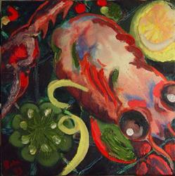 Art: Mumbo Gumbo by Artist Caroline Lassovszky Baker