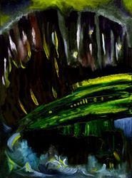 Art: Pitch by Artist Caroline Lassovszky Baker