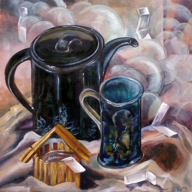 Art: Promises by Artist Caroline Lassovszky Baker