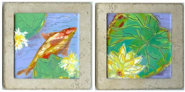 Art: The Pond by Artist Deborah Sprague