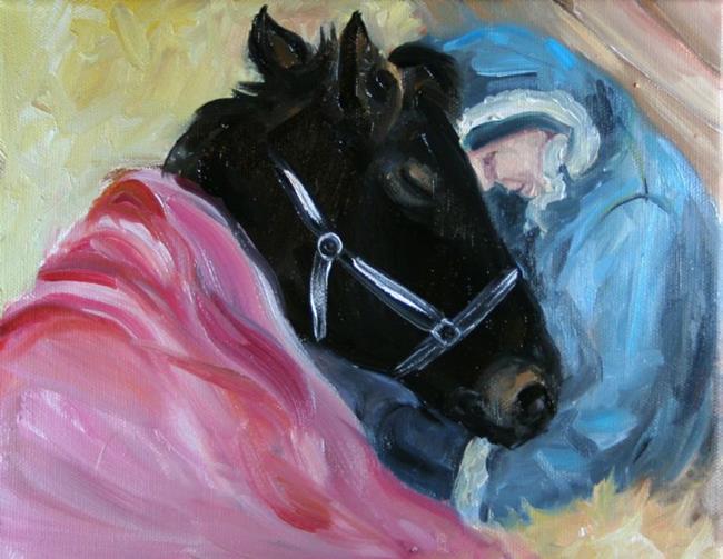 Art: Safe and Warm by Artist Deborah Sprague