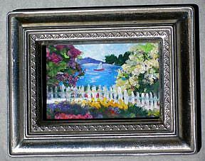 Art: Sailing on a Sunny Day by Artist Deborah Sprague