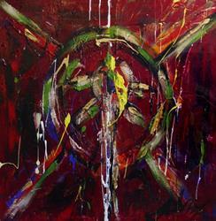 Art: Woman by Artist Kelli Ann Dubay