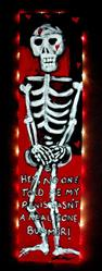 Art: Mr. Bones and his discovery - Frank Conde by Artist Kelli Ann Dubay