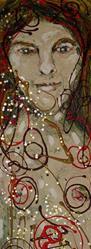 Art: Linda Falge by Kelli Dubay by Artist Kelli Ann Dubay
