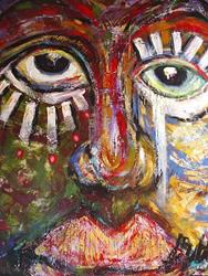 Art: Masquerade by Artist Kelli Ann Dubay