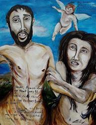 Art: Wrong Directions - Erika Nelson by Artist Kelli Ann Dubay