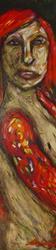 Art: Reversal in Mardi Gras by Artist Kelli Ann Dubay