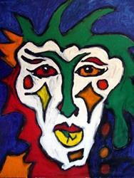 Art: Mardi Gras Too by Artist Kelli Ann Dubay