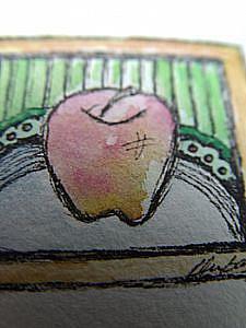 Detail Image for art An apple for the teacher....