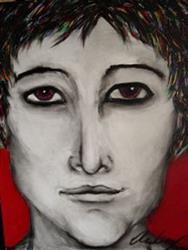Art: Mischievous Amanda Hone  by Artist Kelli Ann Dubay