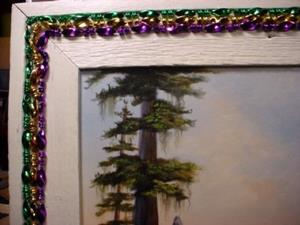 Detail Image for art Mardi Gras in Bayou