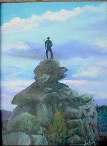 Detail Image for art On Top of The World  Wyoming