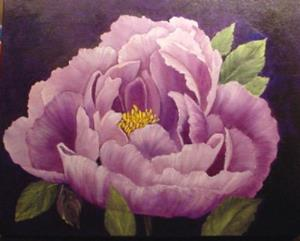 Detail Image for art Lavender Peony