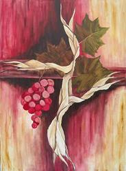 Art: The Vine by Artist Melanie Pruitt