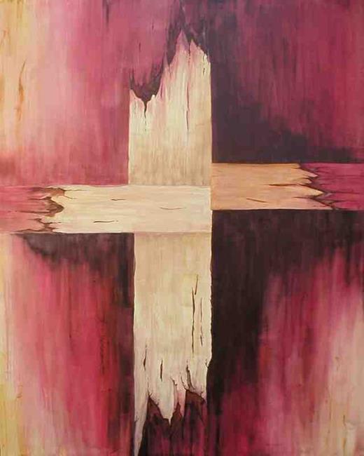 Art: The Cross by Artist Melanie Pruitt