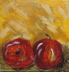 Art: apple 1 8 x 8 by Artist Nancy Denommee