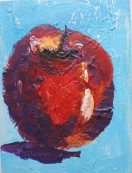 Art: apple #2 by Artist Nancy Denommee