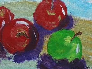Detail Image for art apples #4