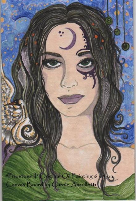 Art: Priestess II.jpg by Artist Carole Anzolletti