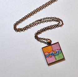 Art: Spring Abstract ~ Dana Marie Wearable Art by Artist Dana Marie