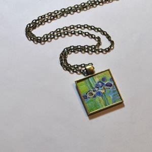 Detail Image for art Vibrant Green Abstract - Wearable Art