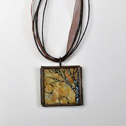 Art: Motivated by Love ~ Original Wearable Art by Artist Dana Marie