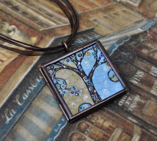 Art: Blessings - Original Dana Marie Wearable Art by Artist Dana Marie