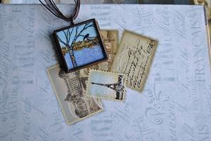 Detail Image for art Inner Knowing - Original Dana Marie Wearable Art -Sold