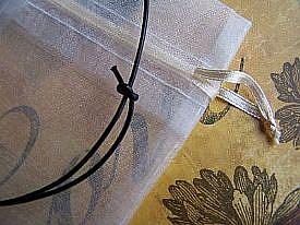 Detail Image for art Apple Blossom Songbirds ~ Glass Locket Pendant & Leather Necklace ~ Sold
