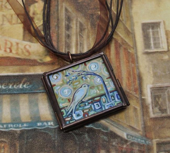 Art: Winds of Change - Original Dana Marie Wearable Art ~ Sold by Artist Dana Marie