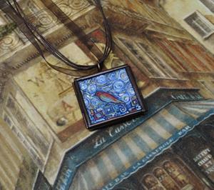 Detail Image for art Reflected Back - Original Dana Marie Wearable Art
