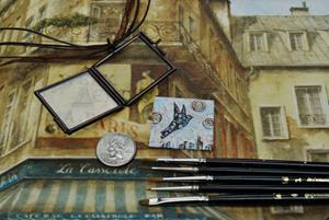 Detail Image for art Take Flight - Original Dana Marie Wearable Art