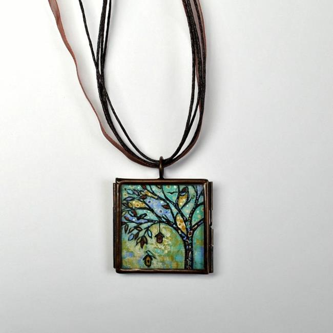 Art: Filled with Joy ~ Original Wearable Art ~ SOLD by Artist Dana Marie