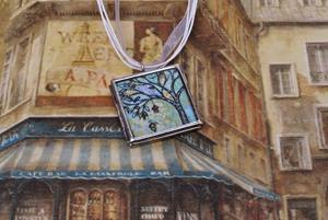 Detail Image for art Filled with Joy ~ Original Wearable Art ~ SOLD