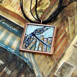 Art: Sequestered Nooks ~ Original Dana Marie Wearable Art ~ SOLD by Artist Dana Marie